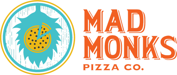 Mad Monks Pizza Logo